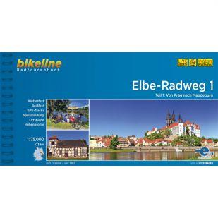 Elbe Radweg Dl 1 Prag Magdeburg  Bikeline Fietsgids 2019