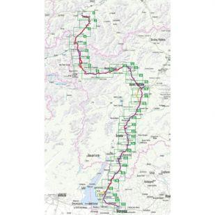 Etsch Radweg Bikeline Fietsgids