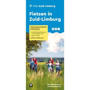Visit Zuid-Limburg Officiële Fietsknooppuntenkaart