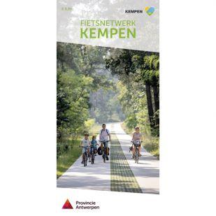 Fietsknooppuntenkaart Antwerpse Kempen