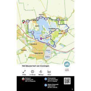 Fietsgids Fietsrouteboek Nederland - Falk (2021)