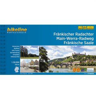 Fränkischer Radachter, Main-Werra-Radweg, Fränkische Saale Bikeline Fietsgids