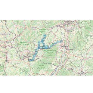 Glan-Blies-Radweg • Barbarossa-Radweg Bikeline Kompakt fietsgids (2021)