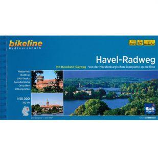 Havel Radweg Bikeline Fietsgids
