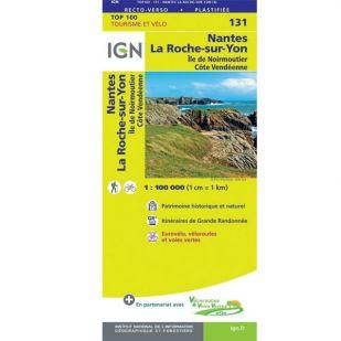 IGN 131 Nantes / La-Roche-Sur-Yon