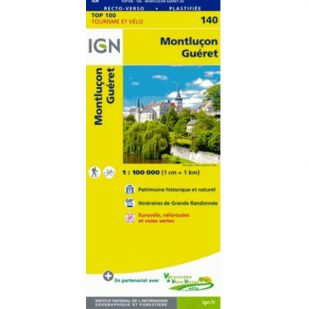 IGN 140 Montlicon/Gueret