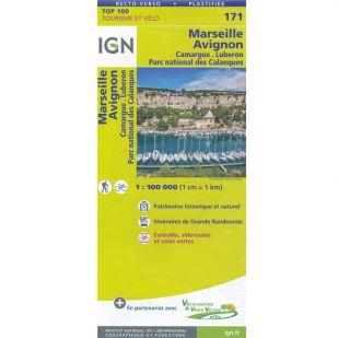 IGN 171 Marseille/Avignon