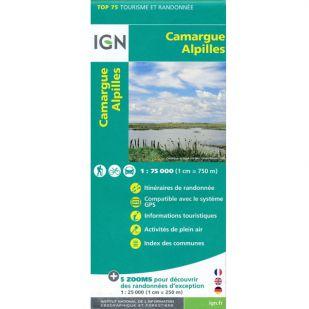 IGN Camargue Alpilles (33) - Wandel- en fietskaart