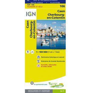 IGN 106 Caen/Cherbourg-Octeville