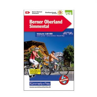 Berner Oberland Velokarte 16