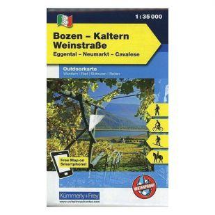 KF4 Gröden - Seiseralm Outdoorkaart