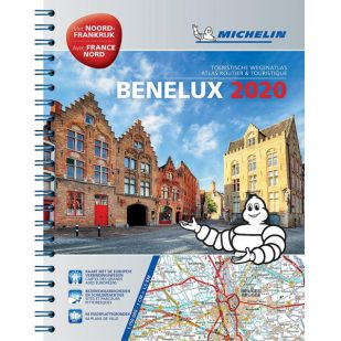 Benelux Wegenatlas 2020