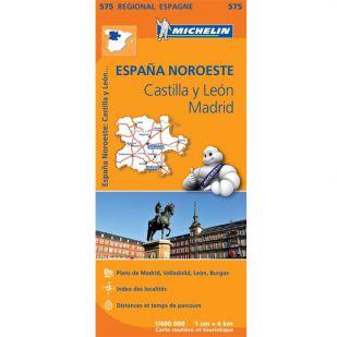 Michelin 575 Castilla y Leon-Madrid