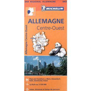 Michelin 543 Duitsland Midden West
