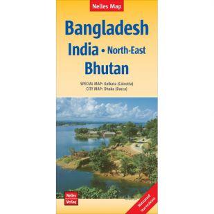 Nelles Bangladesh, India Noord-Oost, Bhutan