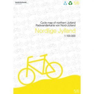 Noord-Jutland (DK) fietskaart