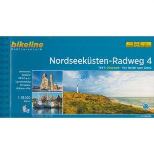 Nordseekusten Radweg 4 Bikeline Fietsgids