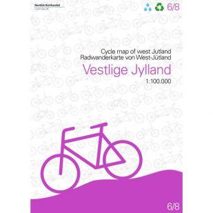 West-Jutland (DK) fietskaart