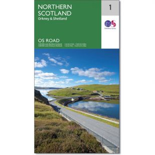 OS Road Map 1: Northern Scotland