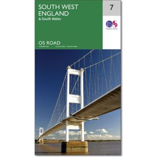 OS Road Map 7: South West England
