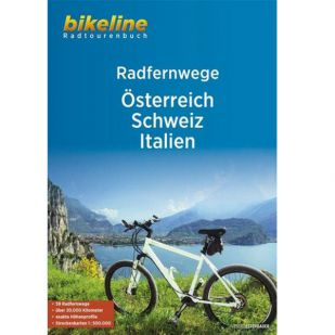 Radfernwege Österreich-Schweiz-Italien Bikeline !