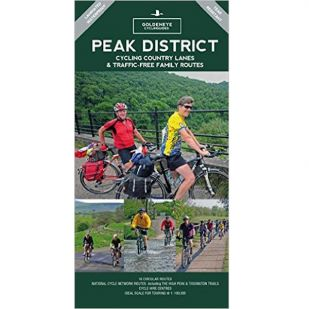 Peak District Cycling Map Goldeneye