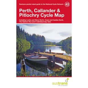 43. Perth, Callander & Pitlochry Cycle Map