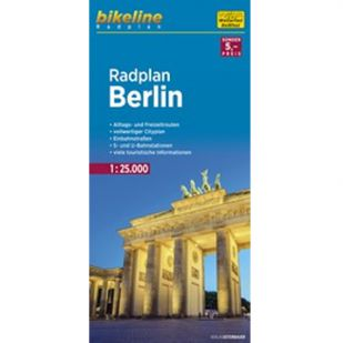 Radplan Berlin - Bikeline Fietskaart