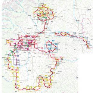 Piemont Radregion Bikeline fietsgids !