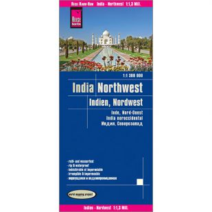 Reise-Know-How India Noord-West