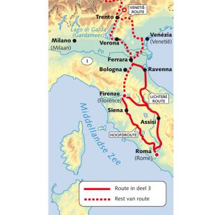 A - Reitsma's Route naar Rome deel 3 Ferrara-Rome