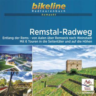 Remstal-Radweg Bikeline Kompakt Fietsgids (2021)