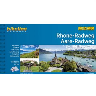Rhone Radweg en Aare Radweg Bikeline Fietsgids