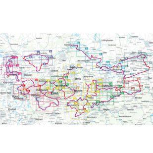 Ruhrgebiet Radregion Bikeline Fietsgids