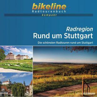 Rund um Stuttgart Bikeline Kompakt fietsgids (2021)
