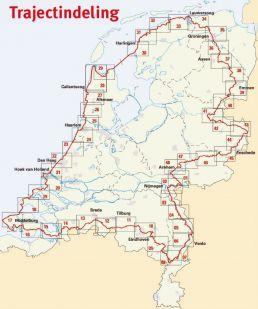 Ronde van Nederland via LF-routes 2020