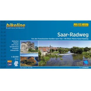 Saar Radweg Bikeline Fietsgids
