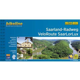 Saarland Radweg + SaarLorLux Bikeline Fietsgids (2019)