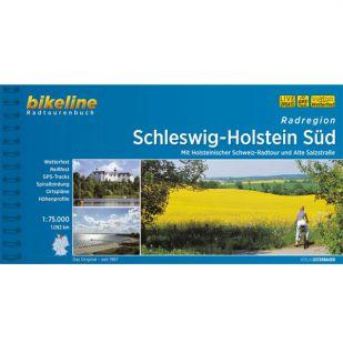 Radatlas Schleswig Holstein Sud  Bikeline Fietsgids !