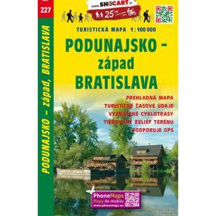 Shocart nr. 227 - Podunajsko - zapad, Bratislava
