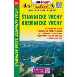 Shocart nr. 229 - Stiavnicke Vrchy, Kremnicke Vrchy