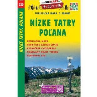 Shocart nr. 230 - Nizke Tatry, Pol'ana !