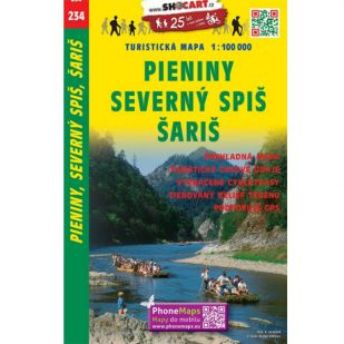 Shocart nr. 234 - Pieniny, Severny Spis, Saris