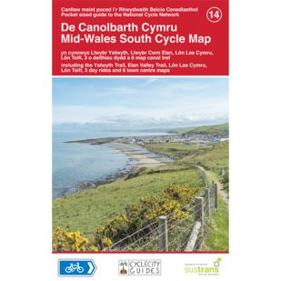 14. Mid-Wales South Cycle Map !