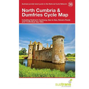 35. North Cumbria & Dumfries Pocket Cycle Map