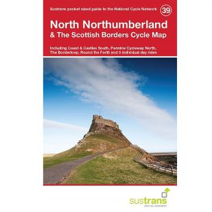39. North Northumberland & The Scottish Borders Cycle Map