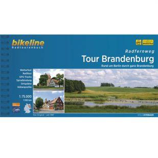 Radfernweg Tour Brandenburg Bikeline Fietsgids