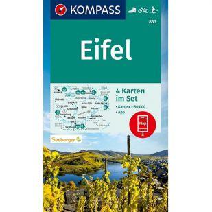KP833 Eifel - 4 kaartenset