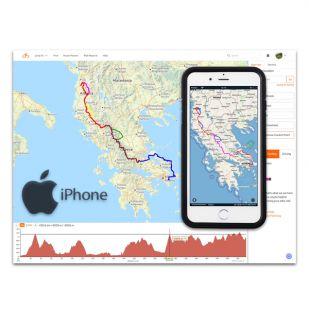 Cursus Smartphone als GPS (iPhone) - Gevorderden