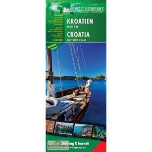 F&B Wegenkaart Kroatie zuidkust - World Compact